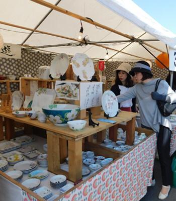 九谷茶碗祭りの様子
